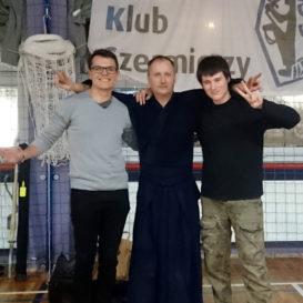 Zgrupowanie kendo w klubie Koryukan